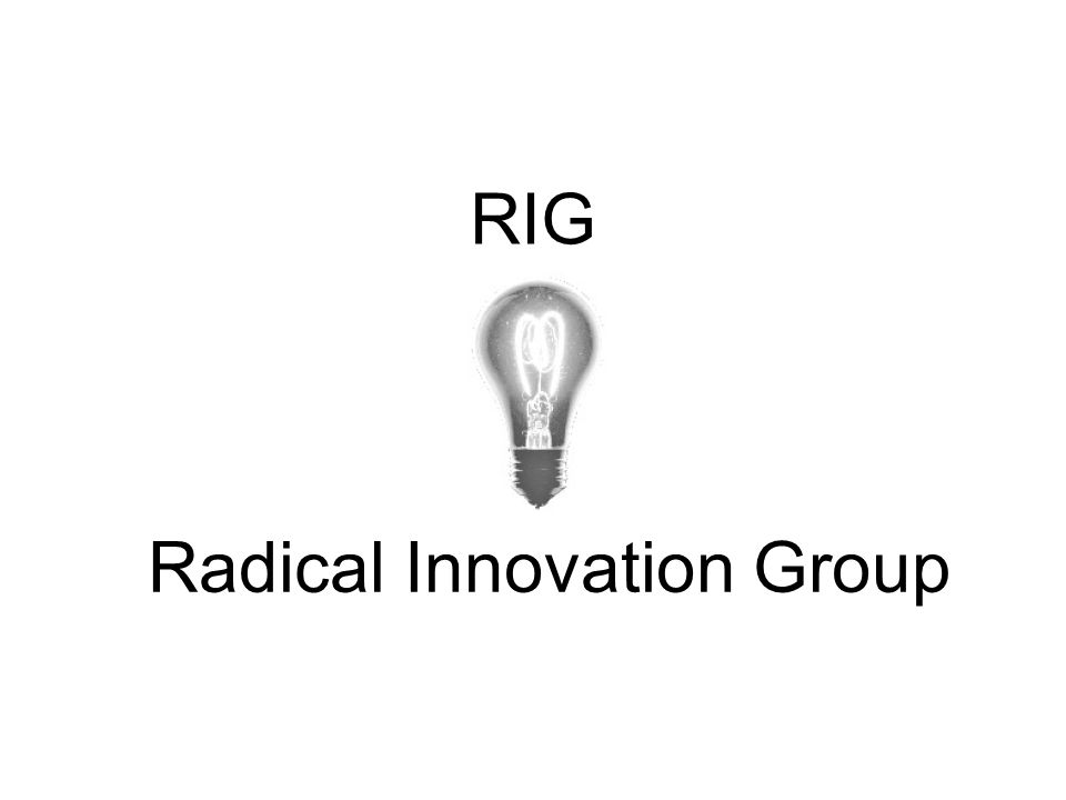 RIG Radical Innovation Group
