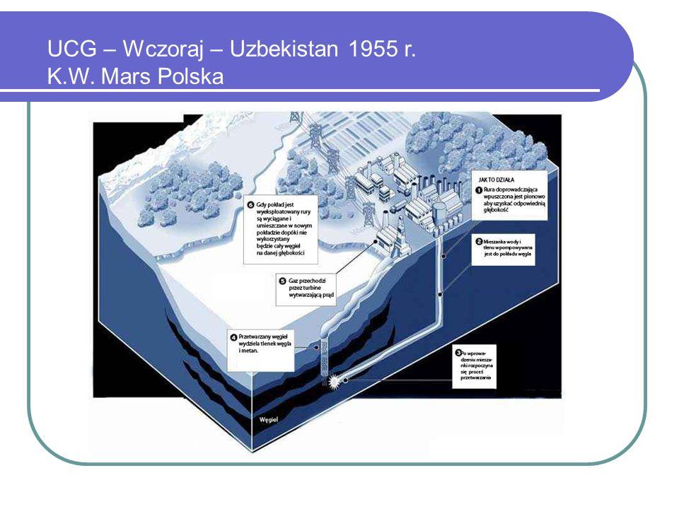 UCG – Wczoraj – Uzbekistan 1955 r. K.W. Mars Polska