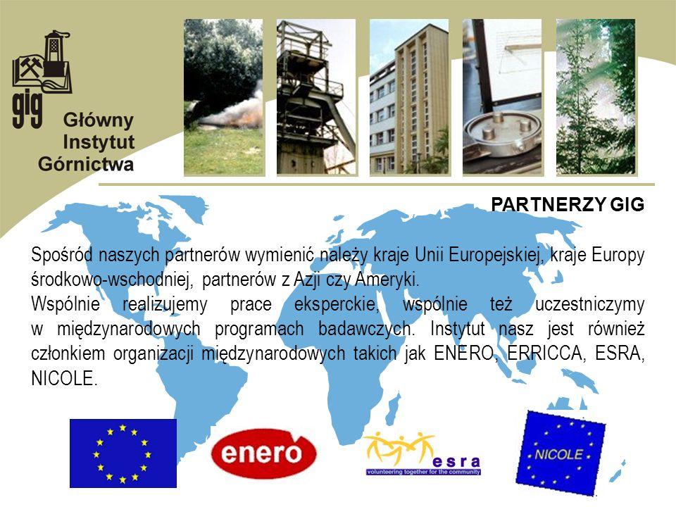 GIG A UNIA EUROPEJSKA PROJEKTY REALIZOWANE PRZEZ GIG W RAMACH PROGRAMU LEONARDO DA VINCI CELGAS Centrum Nowoczesnej Edukacji Gazowniczej PROJEKTY REALIZOWANE PRZEZ GIG W RAMACH PROGRAMU INTERREG III B CADSES MAGIC Zarządzanie wodami podziemnymi na terenach zanieczyszczonych przemysłowo