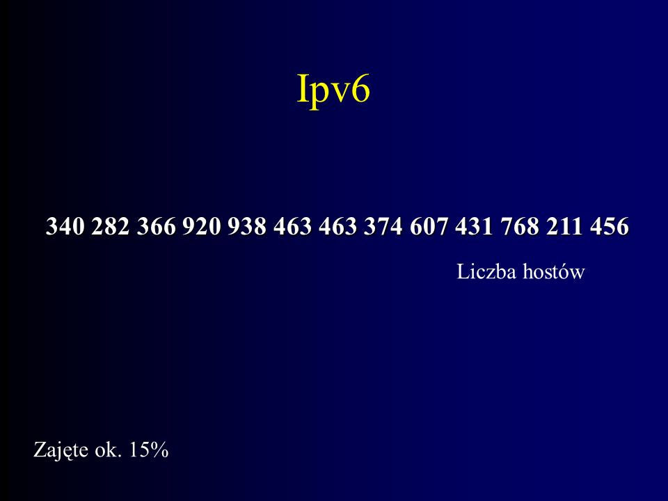 Ipv6 Transmisje audio/wideo Mobilność Bezpieczeństwo końcowe Autokonfiguracja i autorekonfiguracja