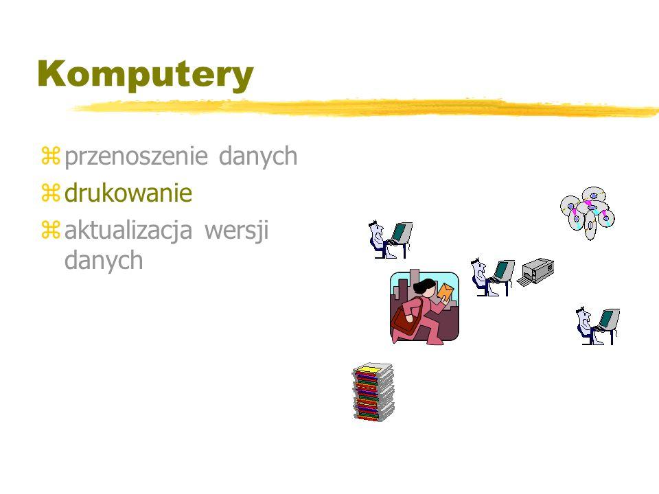 Komputery zprzenoszenie danych zdrukowanie zaktualizacja wersji danych Gdzie moje dane ?