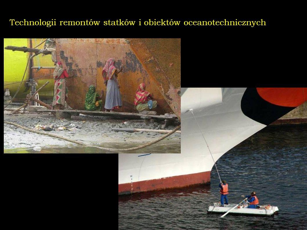 Technologii remontów statków i obiektów oceanotechnicznych