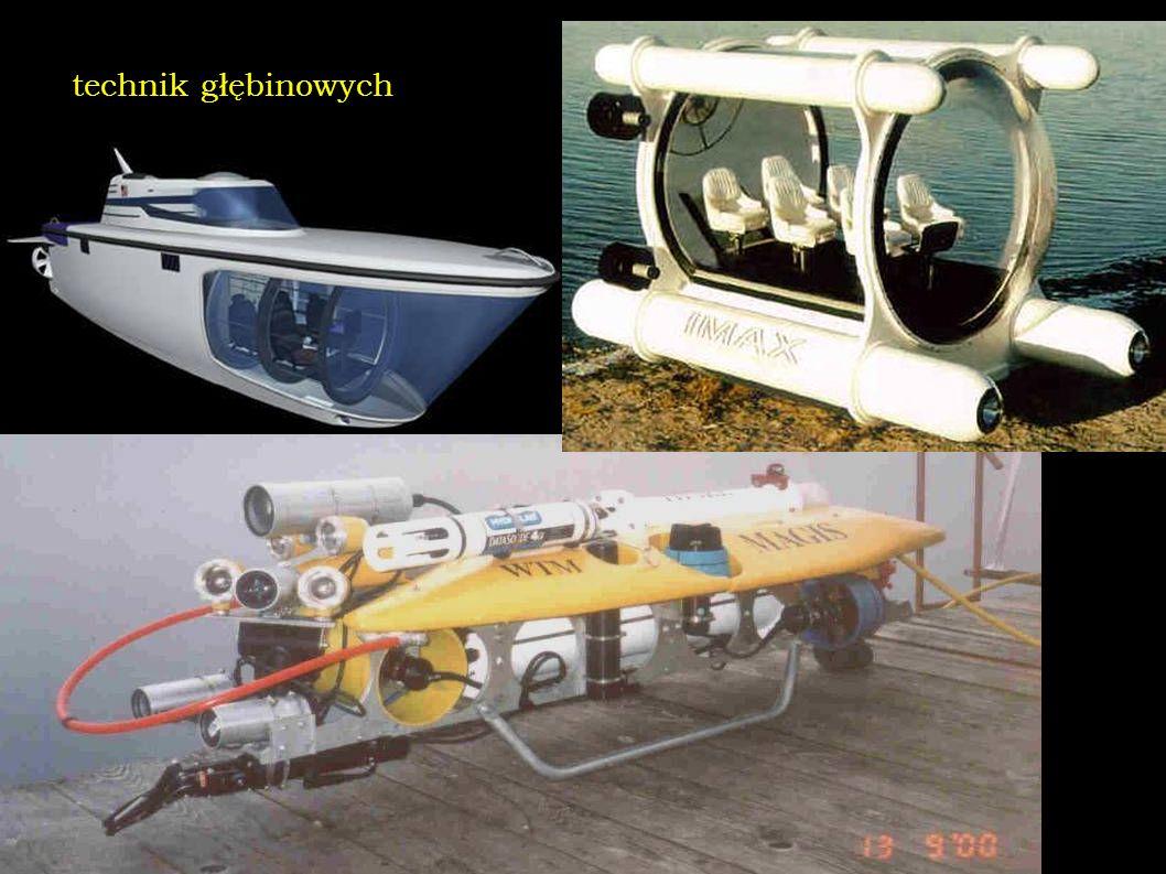 technik głębinowych