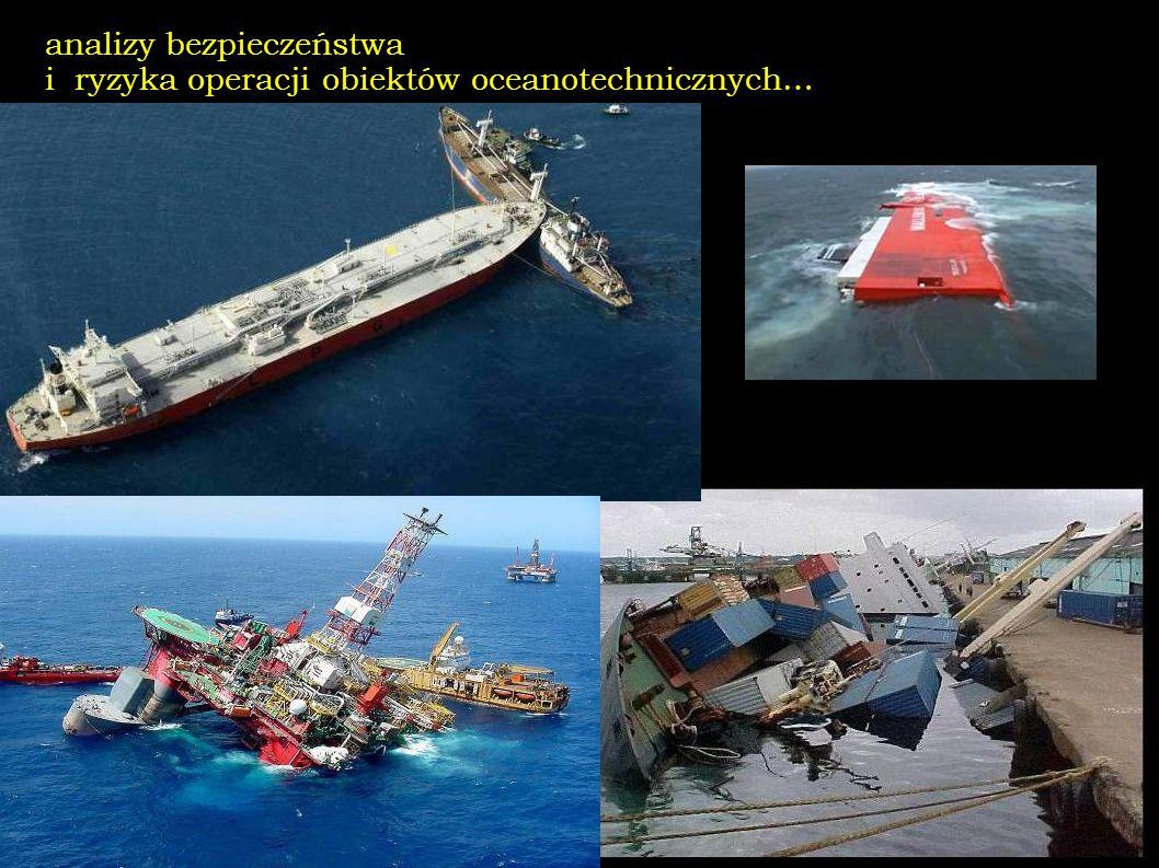 analizy bezpieczeństwa i ryzyka operacji obiektów oceanotechnicznych…