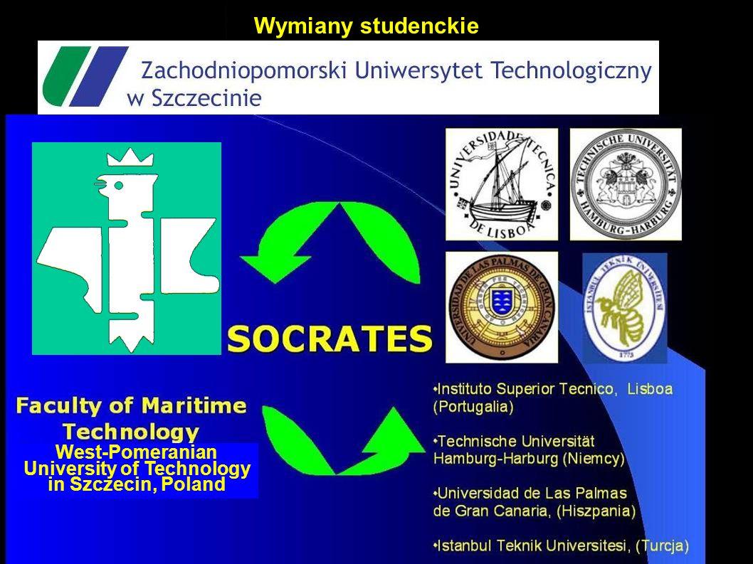 Wymiany studenckie West-Pomeranian University of Technology in Szczecin, Poland