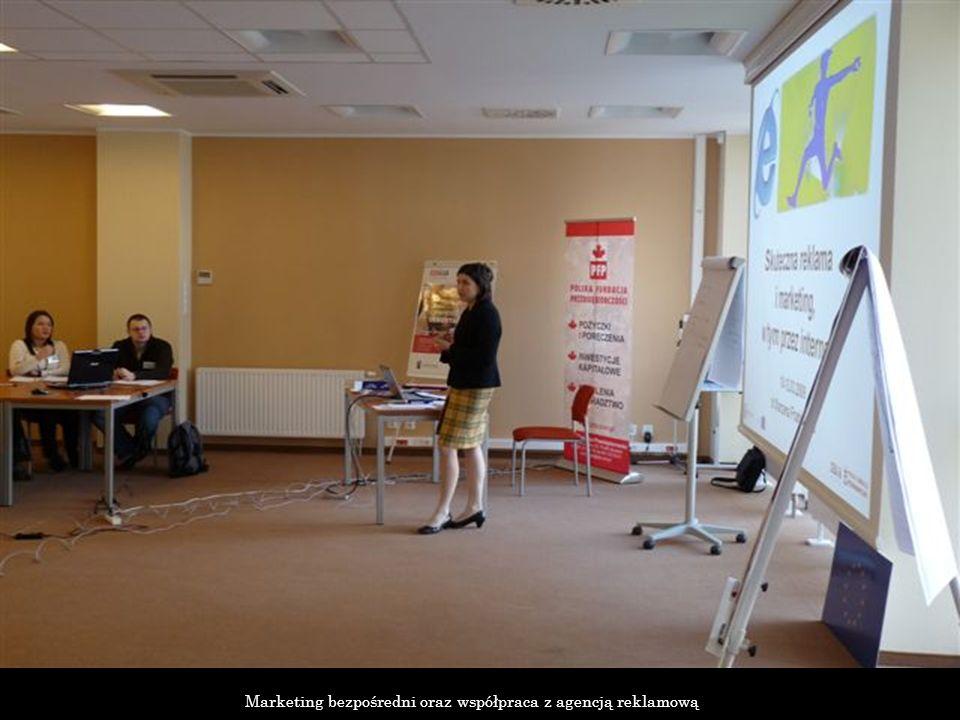 Marketing bezpośredni oraz współpraca z agencją reklamową