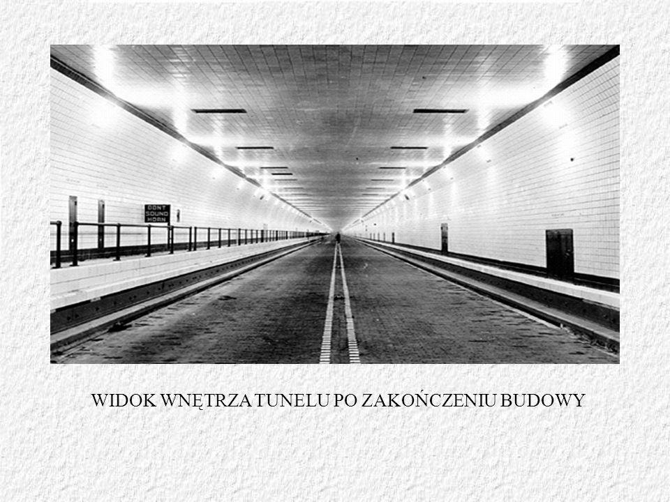 WIDOK WNĘTRZA TUNELU PO ZAKOŃCZENIU BUDOWY