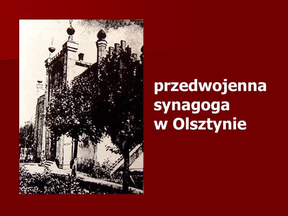 przedwojenna synagoga w Olsztynie