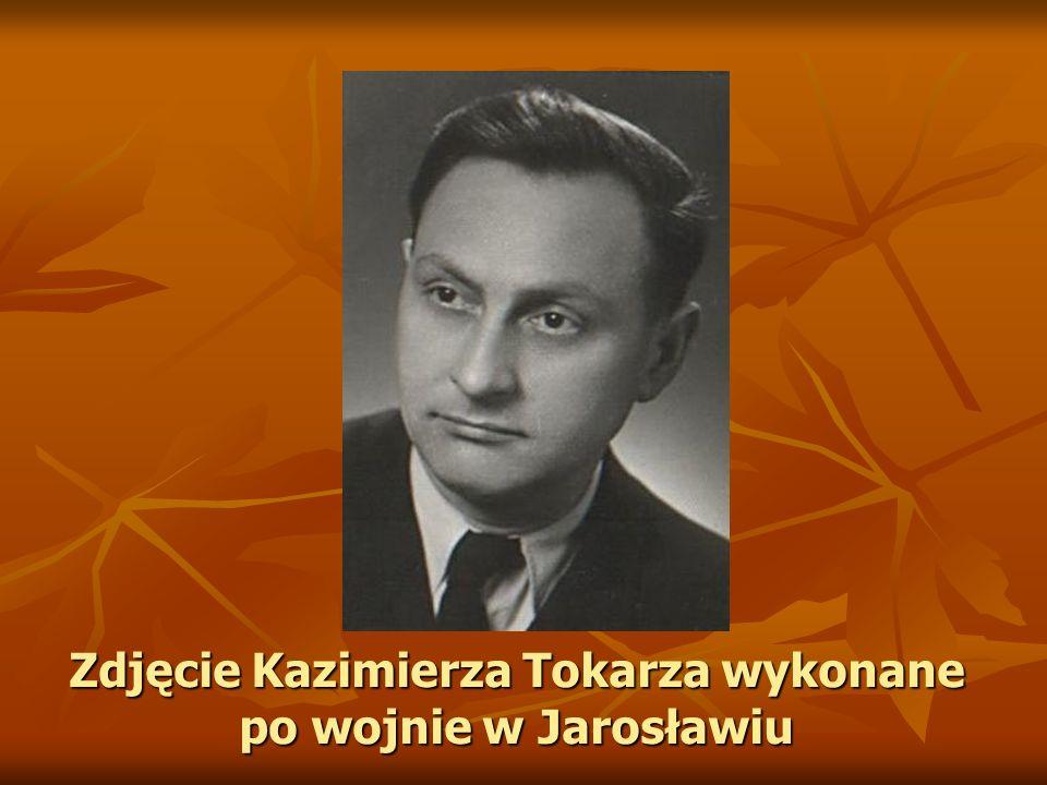Zdjęcie Kazimierza Tokarza wykonane po wojnie w Jarosławiu