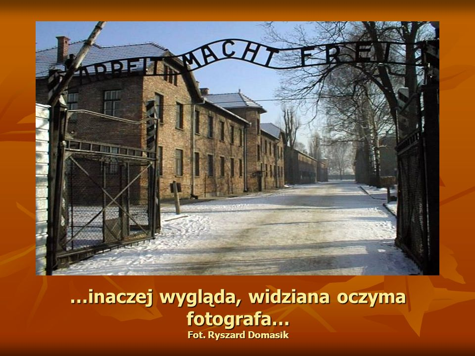 …inaczej wygląda, widziana oczyma fotografa… Fot. Ryszard Domasik