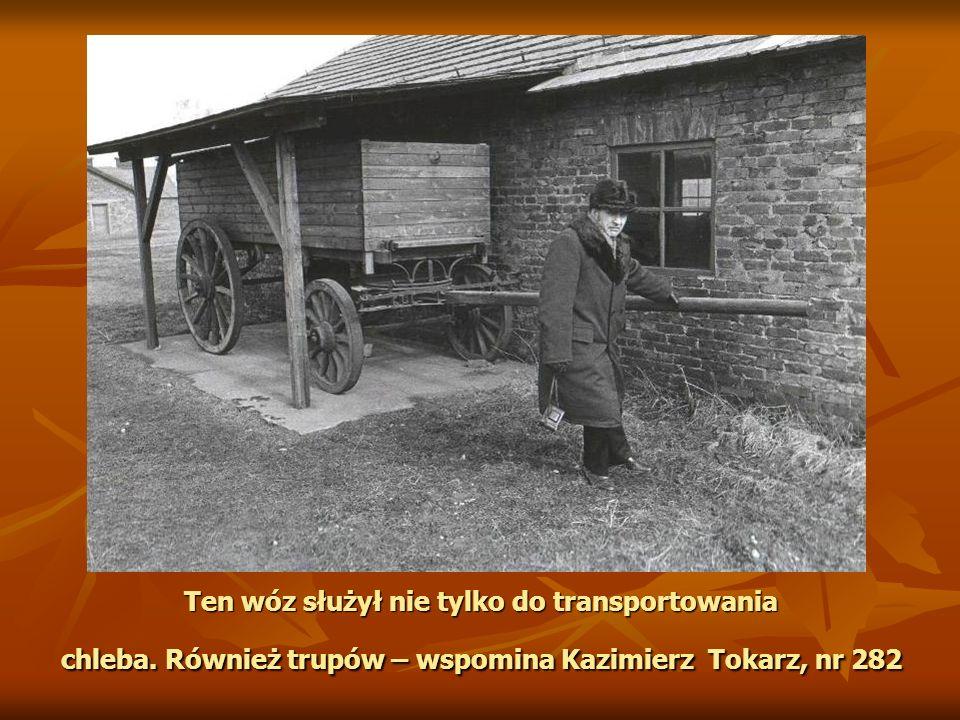 Ten wóz służył nie tylko do transportowania chleba.