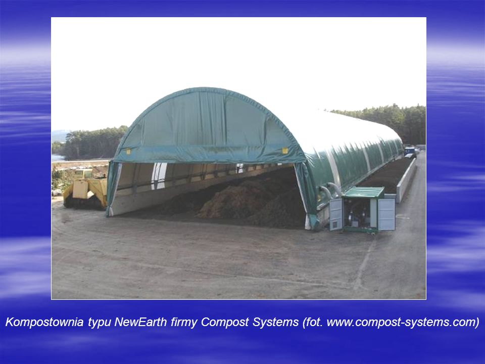 Kompostownia typu NewEarth firmy Compost Systems (fot. www.compost-systems.com)