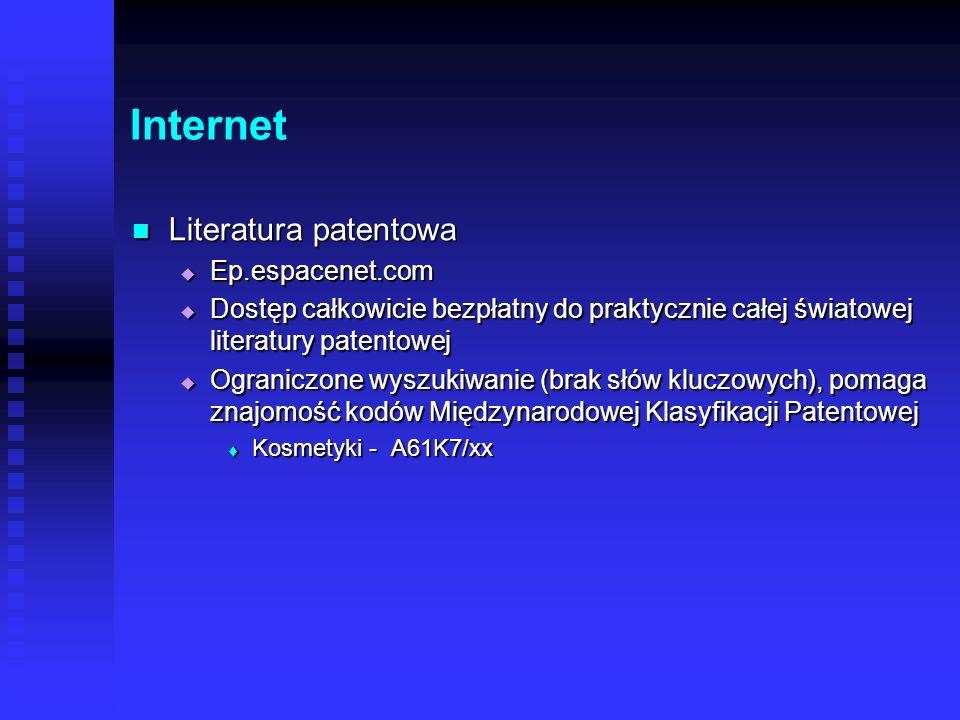 Internet Serwis Biotechnologia Serwis Biotechnologia Literatura techniczna – monografie surowców, receptury Literatura techniczna – monografie surowcó