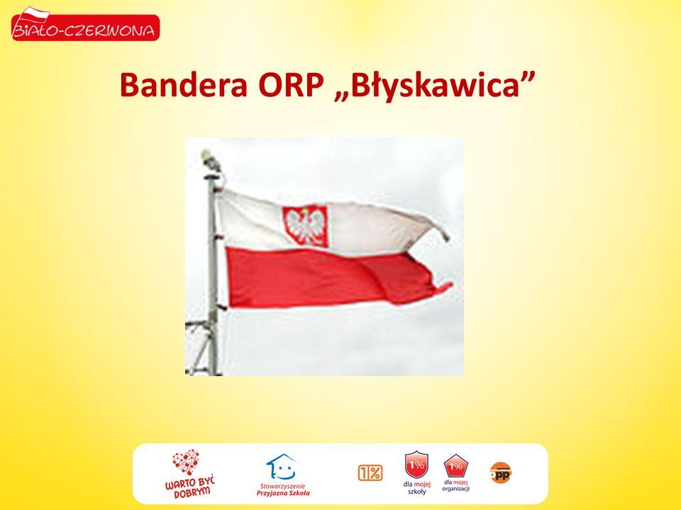 Bandera ORP Błyskawica
