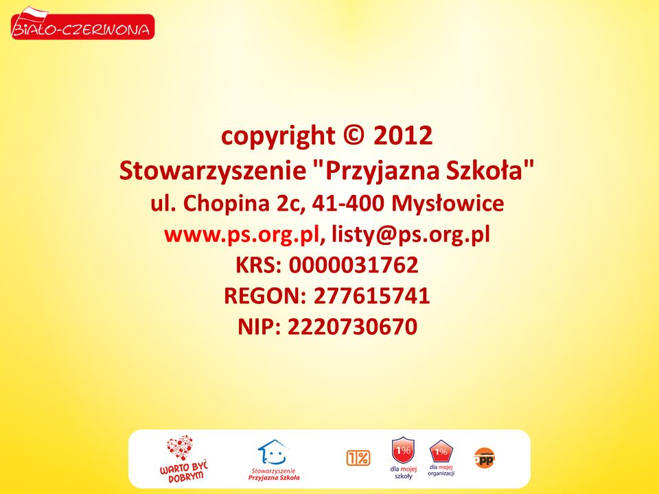 copyright © 2012 Stowarzyszenie