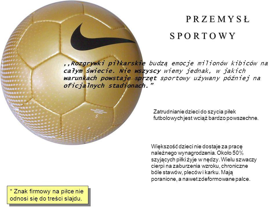 P R Z E M Y S Ł P R Z E M Y S Ł S P O R T O W Y S P O R T O W Y,,Rozgrywki piłkarskie budzą emocje milionów kibiców na całym świecie. Nie wszyscy wiem