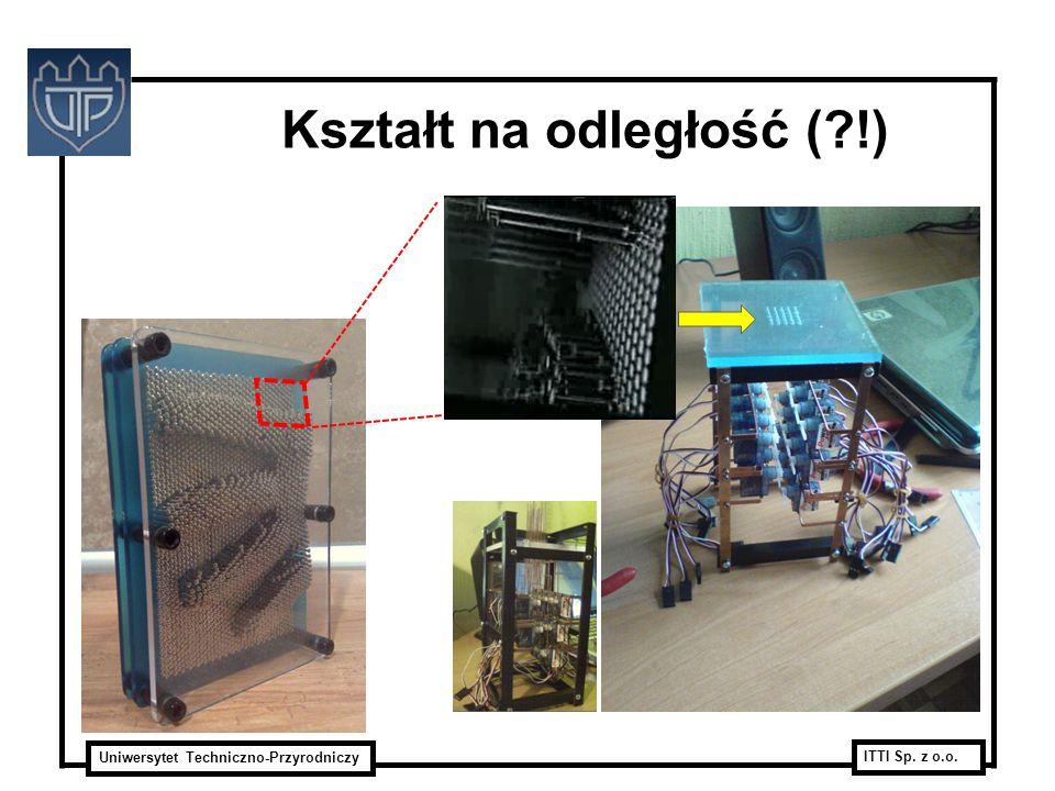 Uniwersytet Techniczno-Przyrodniczy ITTI Sp. z o.o. Kształt na odległość (?!)