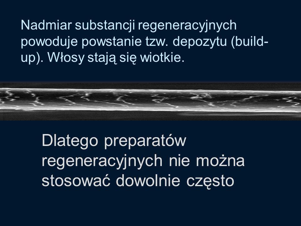 Gotowe preparaty regeneracyjne zawierają zarówno substancje kondycjonujące jak i regeneracyjne