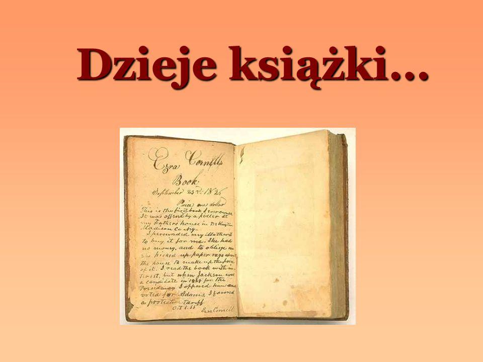 Dzieje książki…
