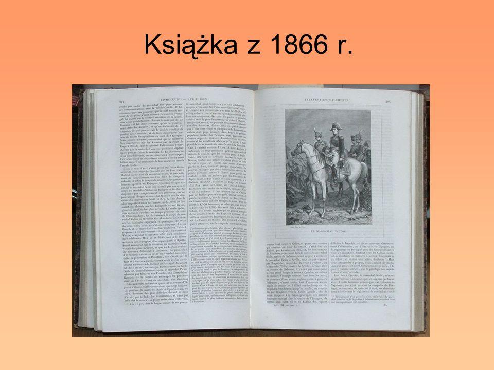 Książka z 1866 r.