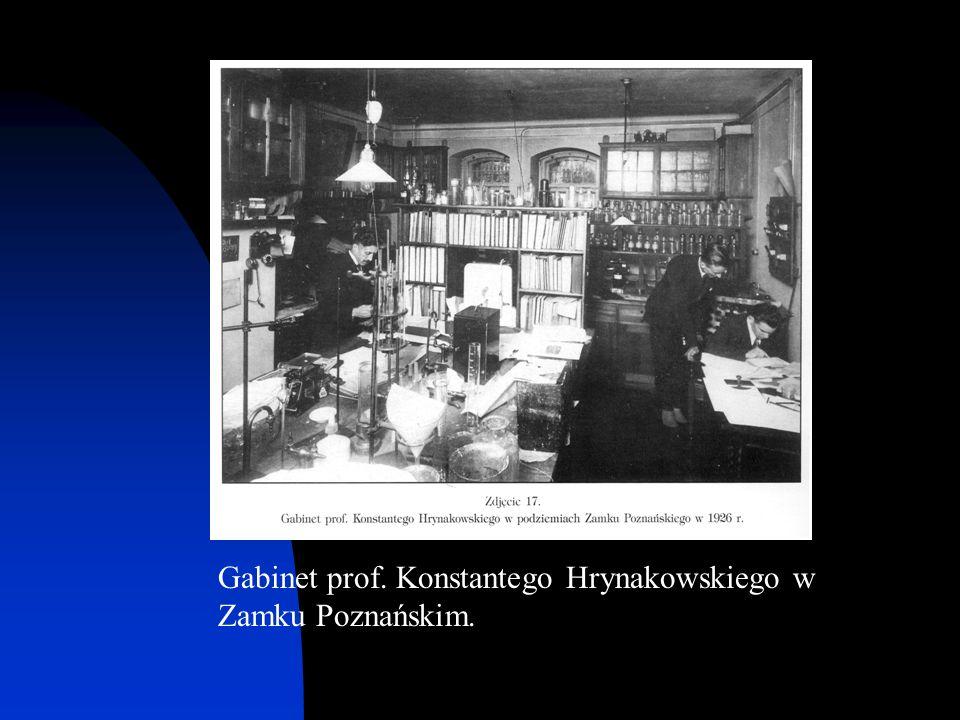Gabinet prof. Konstantego Hrynakowskiego w Zamku Poznańskim.