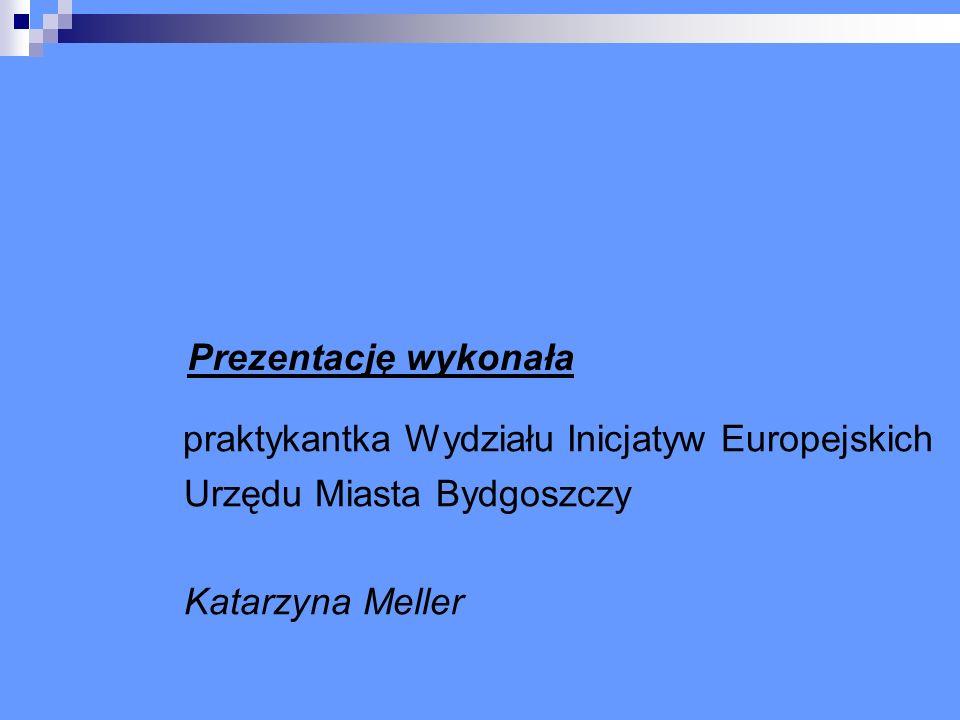 Prezentację wykonała praktykantka Wydziału Inicjatyw Europejskich Urzędu Miasta Bydgoszczy Katarzyna Meller