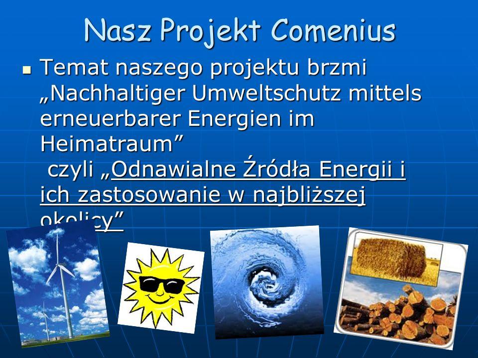 Projekt Comenius w Polsce Od dnia 10 do 15 października 2011r.