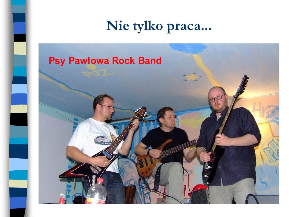 Nie tylko praca... Psy Pawłowa Rock Band