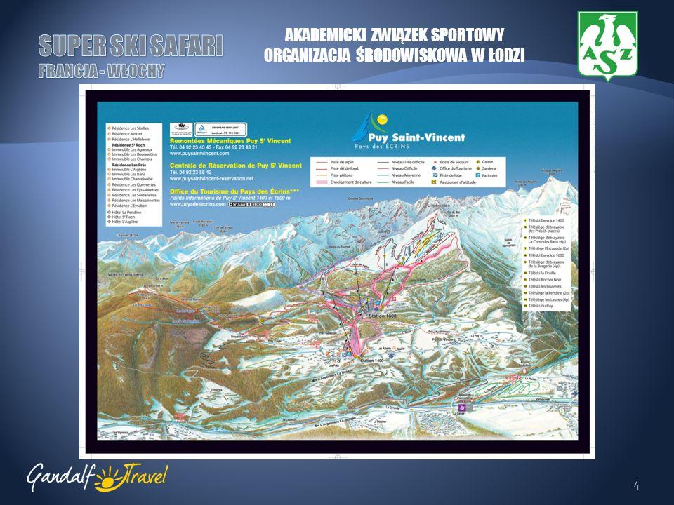 5 SERRE CHEVALIER Jeden z największych okręgów narciarskich Europy.