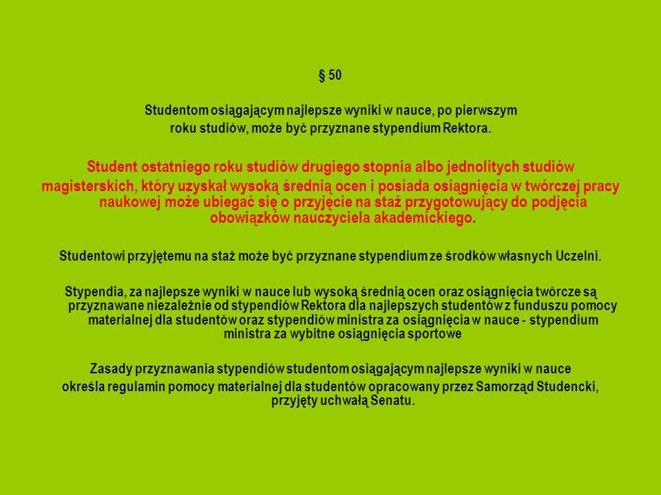 Egzaminy i zaliczenia § 23 Wszystkie przedmioty przewidziane planem studiów, kończą się egzaminem, zaliczeniem na ocenę lub zaliczeniem.