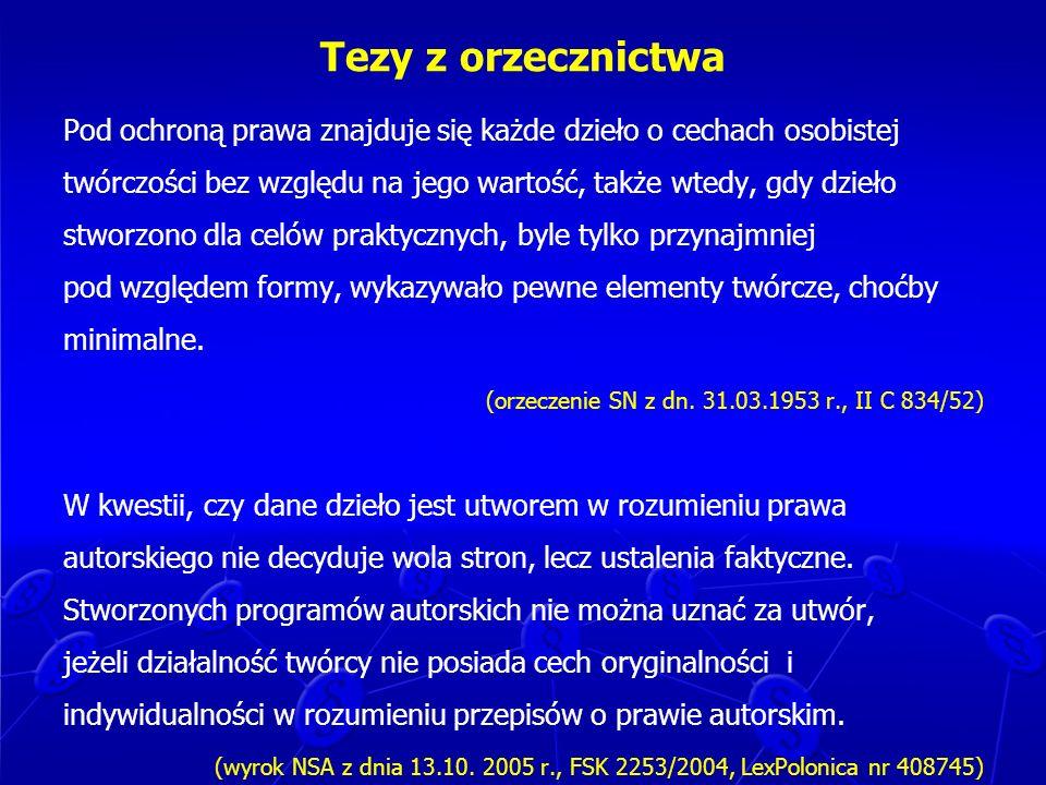 Prawa majątkowe do artystycznych wykonań – cd.Art.