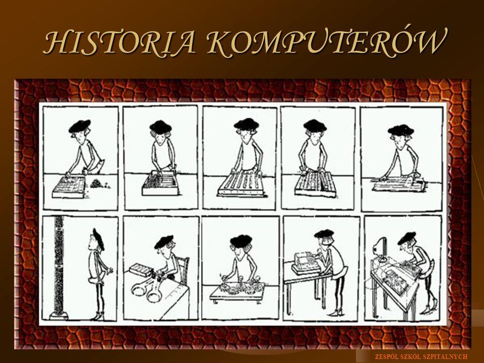 ZESPÓŁ SZKÓŁ SZPITALNYCH HISTORIA KOMPUTERÓW