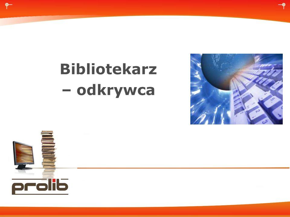 Bibliotekarz – odkrywca