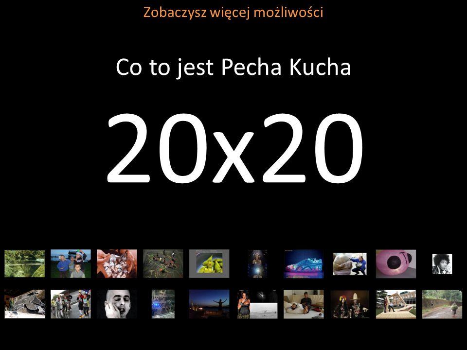 Co to jest Pecha Kucha 20x20 Zobaczysz więcej możliwości