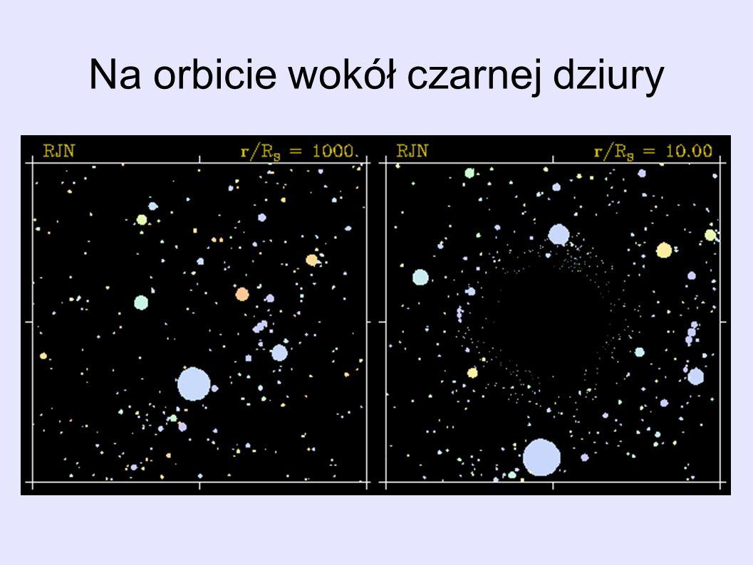 Na orbicie wokół czarnej dziury