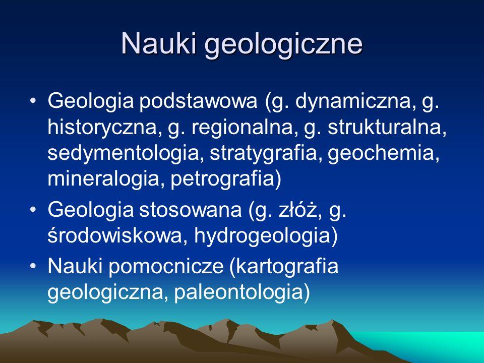 Najważniejsze fakty z dziejów geologii Starożytność (Heraklit z Efezu, Arystoteles, Pliniusz Starszy) Okres średniowiecza i odrodzenia XVIII/XIX w.