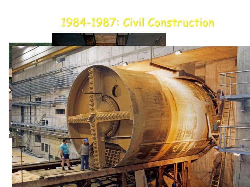 1984-1987: Civil Construction