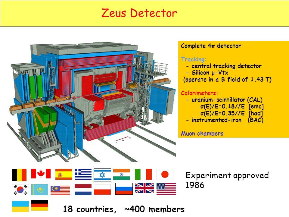 χ 2 /dof = 510/599H1 and ZEUS measurements are consistent.