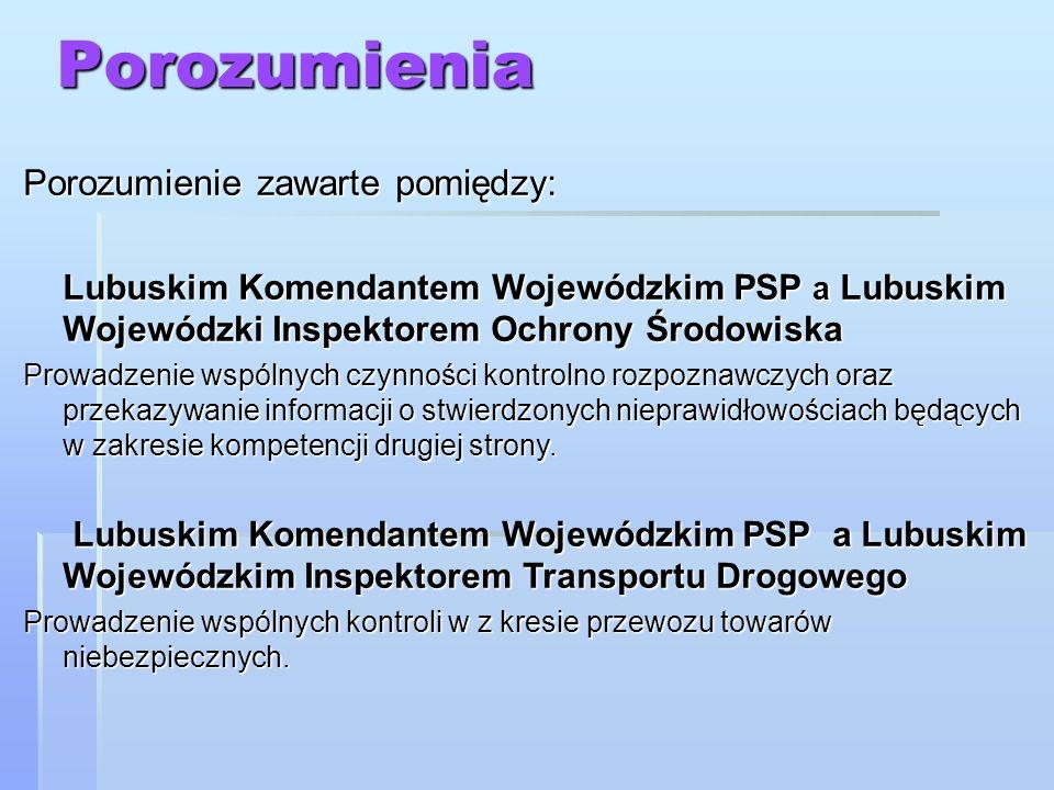 Zasady współpracy w zakresie transgranicznego zanieczyszczenia wód pomiędzy Polską i Niemcami Umowa zawarta między Republiką Federalną Niemiec a Rzeczpospolitą Polską z dnia 10 kwietnia 1997 roku o wzajemnej pomocy podczas katastrof, klęsk żywiołowych lub innych poważnych wypadków Umowa zawarta między Republiką Federalną Niemiec a Rzeczpospolitą Polską z dnia 10 kwietnia 1997 roku o wzajemnej pomocy podczas katastrof, klęsk żywiołowych lub innych poważnych wypadków Porozumienie Ministra Spraw Wewnętrznych i Administracji Rzeczypospolitej Polskiej i Ministra Spraw Wewnętrznych Meklemburgi Pomorza Przedniego, Brandenburgi i Saksonii o wzajemnej pomocy podczas katastrof, klęsk żywiołowych i innych poważnych wypadków, podpisane w Słubicach 18 lipca 2002 r.