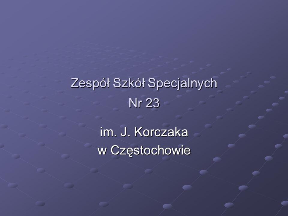 Zespół Szkół Specjalnych Nr 23 im. J. Korczaka w Częstochowie