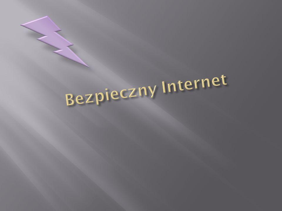 Internet -ogólnoświatowa sieć komputerowa, która jest logicznie połączona w jednolitą sieć adresową opartą na protokole IP (ang.