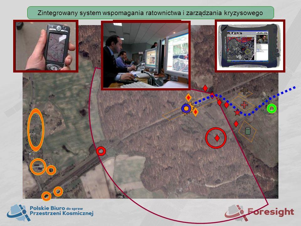 Zintegrowany system wspomagania ratownictwa i zarządzania kryzysowego