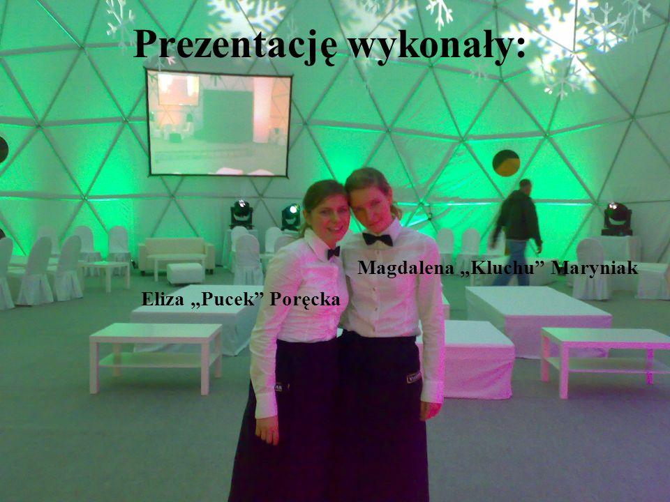 Prezentację wykonały: Eliza Pucek Poręcka Magdalena Kluchu Maryniak