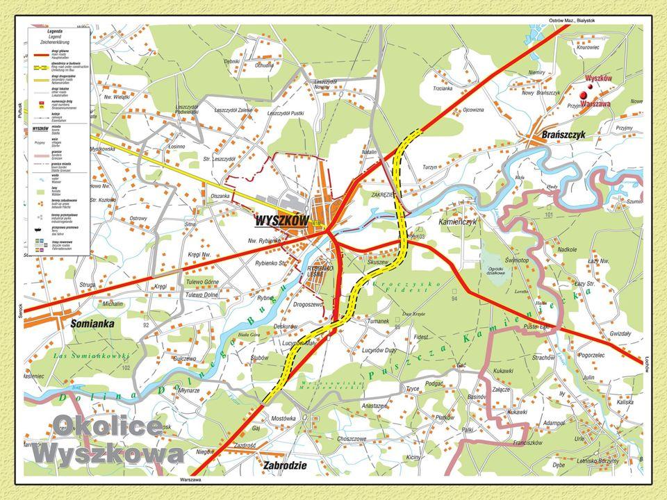 Atrakcyjne tereny w okolicy Wyszkowa: Kamieńczyk, Loretto, Rybienko Leśne, Świniotop i wiele innych.