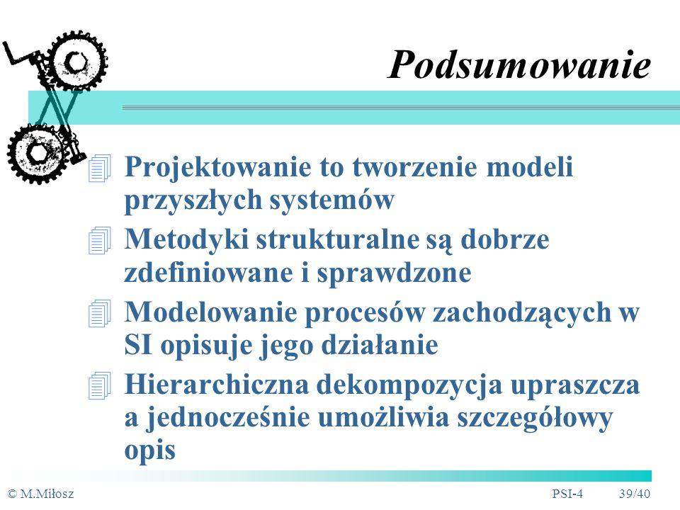 © M.MiłoszPSI-4 38/40 Magazyn: Klienci