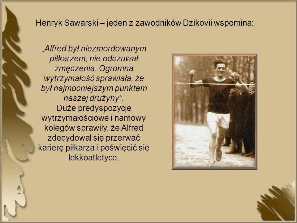 Za początek kariery lekkoatletycznej Alfreda Freyera uznaje się dzień 3 maja 1925 roku.