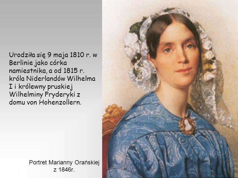 Urodziła się 9 maja 1810 r.w Berlinie jako córka namiestnika, a od 1815 r.