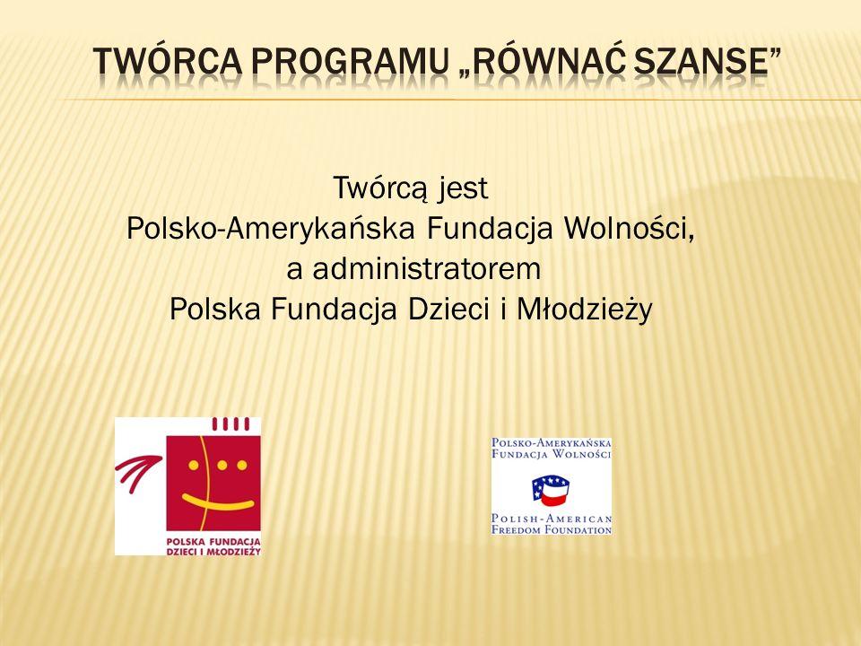 Twórcą jest Polsko-Amerykańska Fundacja Wolności, a administratorem Polska Fundacja Dzieci i Młodzieży