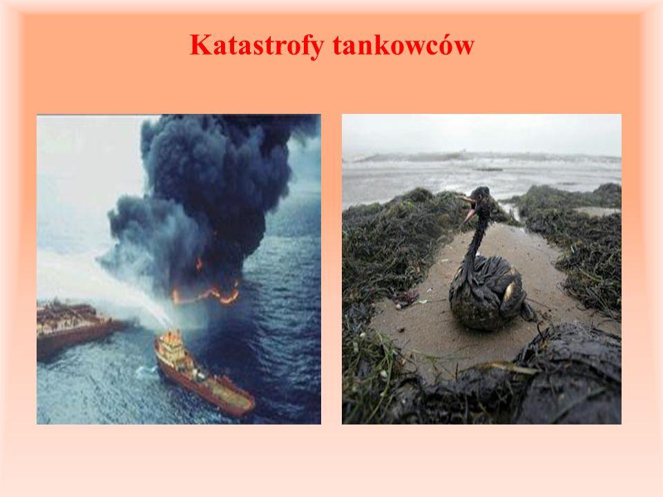 Katastrofy tankowców