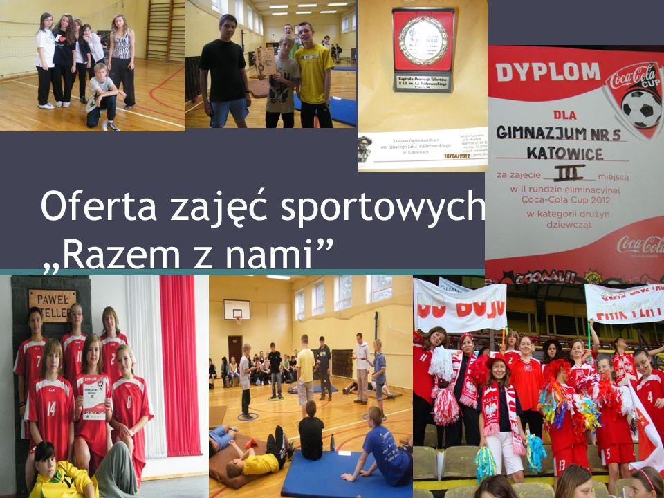 Oferta zajęć sportowych Razem z nami